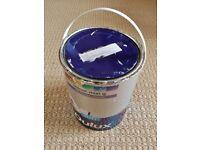 Dulux Fragrant Cloud 6 FV1 Light Grey Matt Paint for Walls and Ceilings 1/4 of 5 Litre Tin Left