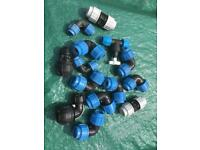 Plastic water mains fittings