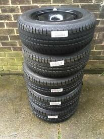 New Wheels & Tyres 195/65/15 BOGOF