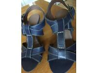 New M&S Footglove size 3.5 leather sandals
