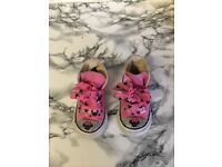 Personalised Minnie Mouse infant converse size 5