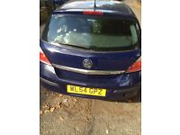 Vauxhall Astra 2005 For sale. Engine seized does not drive take as seen for repair or scrap(OFFERS)