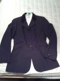 ladies horse riding show jacket with shirt
