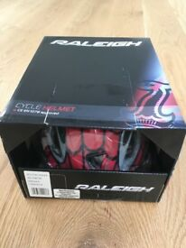 Young Child's Raleigh Mystery Spider Cycle Helmet brand new in box. Small 48-54cm.