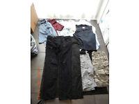mixed lot clothes super dry levi's Gio Gio etc