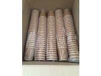 125 insulated disposable cups