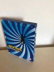 AUSTIN POWERS - THE SHAGADELIC BOX SET - DVD - GREAT CONDITION
