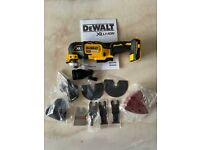 Dewalt DCS355N 18V XR Brushless Oscillating Multi Tool With Accessories