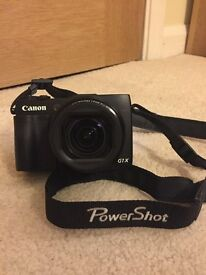 CANON PowerShot G1X Mark II High Performance Compact Camera Black - plus carry case and UV filter