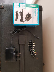 Maplin 9v DC Power Adapter/Supply with Interchangeable pins
