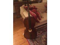 1/2 size cello