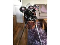 Golf club set. MD. NIKE. PING. CLEVELAND. WILSON STAFF. Bag and all accessories included.