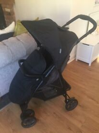 *New* Graco Literider Stroller/Pushchair Incl Raincover & Footmuff/Cosy Toes