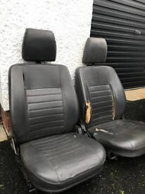 Land Rover Defender Seats and Cubby Box