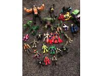 Bundle of DC & Marvel characters