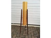 Vintage Original Fibreglass Rocket Floor Lamp 60s - 70s