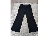 Next black smart trousers