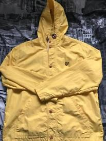 Lyle and Scott jacket Yellow