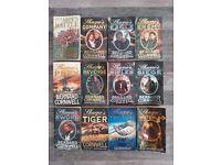 Sharpe's novels by Bernard Cornwell