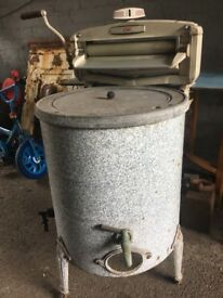 Vintage Acme Washing Tub Boiler