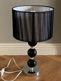 Black Table Lamp