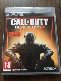 PS3 Call of Duty Black Ops 3 Game