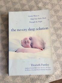 No cry sleep solution book