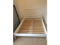 IKEA Double Bed Frame with Slats
