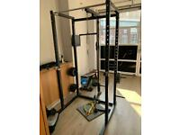Gym equipment set