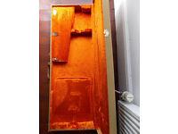 Fender American Vintage AVRI Hard Case Deluxe Tweed Orange Interior G&G Clean