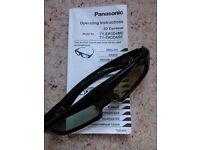 Panasonic active 3D TV glasses