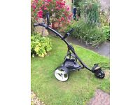 Motocaddy S1 Electric Golf Trolley And 27 Hole Battery