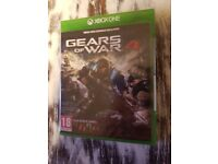 Xbox One Game - Gears Of War 4 - Sealed / Unopened