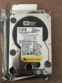 """WD 2tb Enteprise 3.5"""" SATA HDD"""