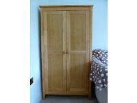 Solid Wood Wardrobe (Tippitoes Vivi) for Nursery, childrens' room, small bedroom