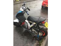 Gilera ice 70cc! Not 50cc! Very rear