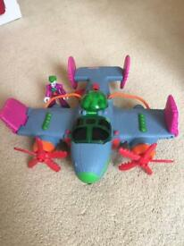 Imaginext Joker plane
