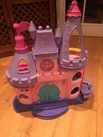 Fisher-Price Toy Disney Princess Little People Musical Dancing Castle