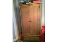 Wiltshire Oak Double Wardrobe for Sale