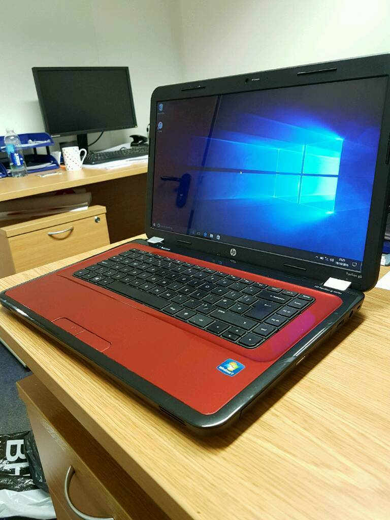 hp pavilion g6 (250gb ssd, 8gb ram + windows10 pro)