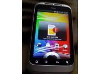 HTC Wildfire S - White (tesco) Smartphone Mobile Phone