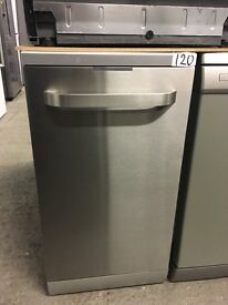 Kenwood KDW45X16 Slimline Dishwasher - Stainless Steel