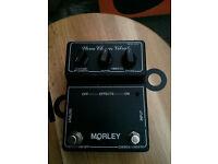 Morely Stereo Chorus Vibrato pedal