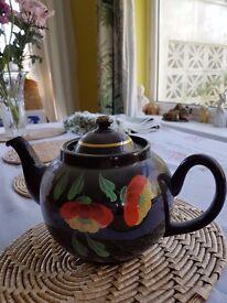 Ornamental Mourning Teapot