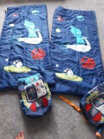 Childs single sleeping bags