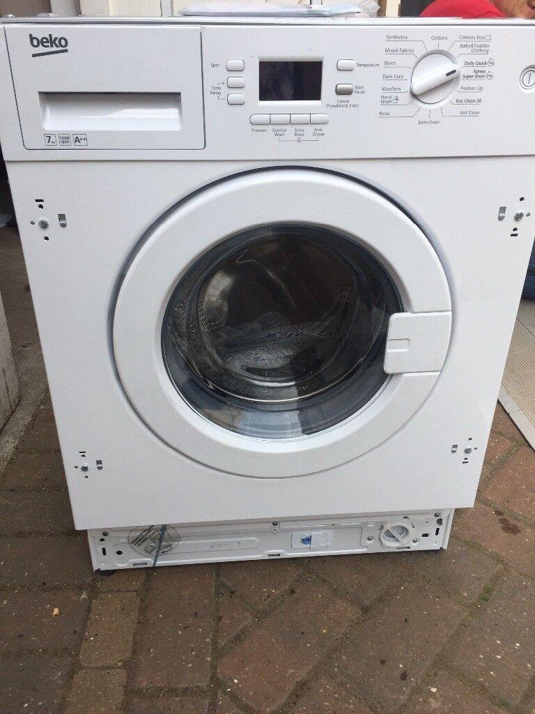 Beko Intergrated Washing Machine New and Unused