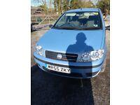 2005 Fiat Punto 1.2 Active 3dr. Metallic Blue