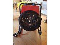 NEW Round Industrial Fan Heater 3KW/240V