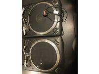 Two Numark turntables