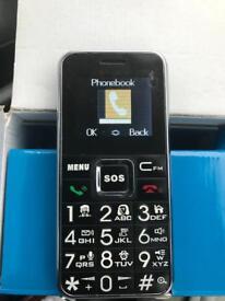 Big Button Mobile Phone HSV708 Black
